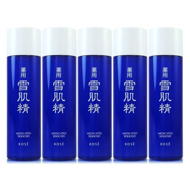 【KOSE高絲】雪肌精x純肌粹保養三件組(贈高品質化妝棉50片裝)