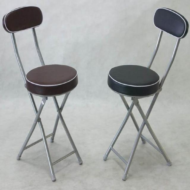 【BROTHER 兄弟牌】丹堤有背折疊椅-黑色或咖啡色 4 張/箱(兄弟牌折疊椅)