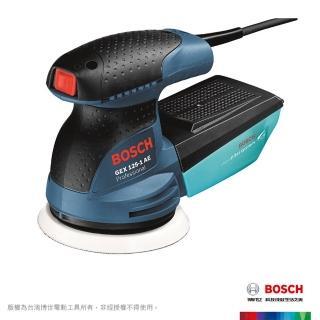 【BOSCH】偏心砂磨打蠟機超值組(GEX 125-1 AE)
