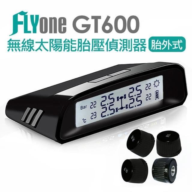 【FLYone】GT600 無線太陽能TPMS 胎壓偵測器 胎外式