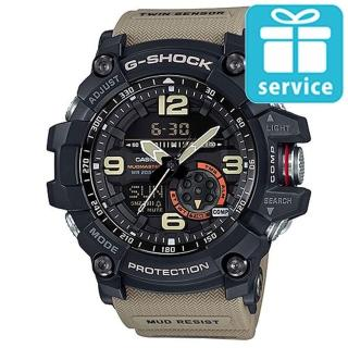 【CASIO】G-SHOCK 極限陸上冒險家軍事設計造型雙顯錶(GG-1000-1A5)