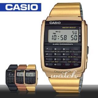 【CASIO 卡西歐】多功能電子錶(CA-506G)