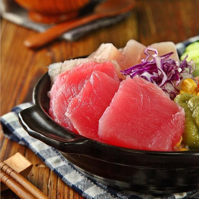 【華得水產】鮪魚生魚片2件組(900g/件)