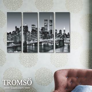 【TROMSO】時尚無框畫(紐約鐵橋迷你款)