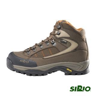 【SIRIO】PF302 Gore-Tex中筒登山健行鞋(棕色)