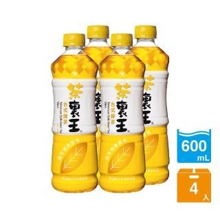 【茶裏王】台式綠茶600ml 4入/組