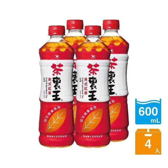 【茶裏王】英式紅茶600ml 4入/組