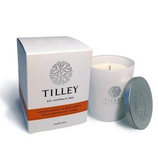 【Tilley百年特莉】檀香香氛大豆蠟燭(240g)