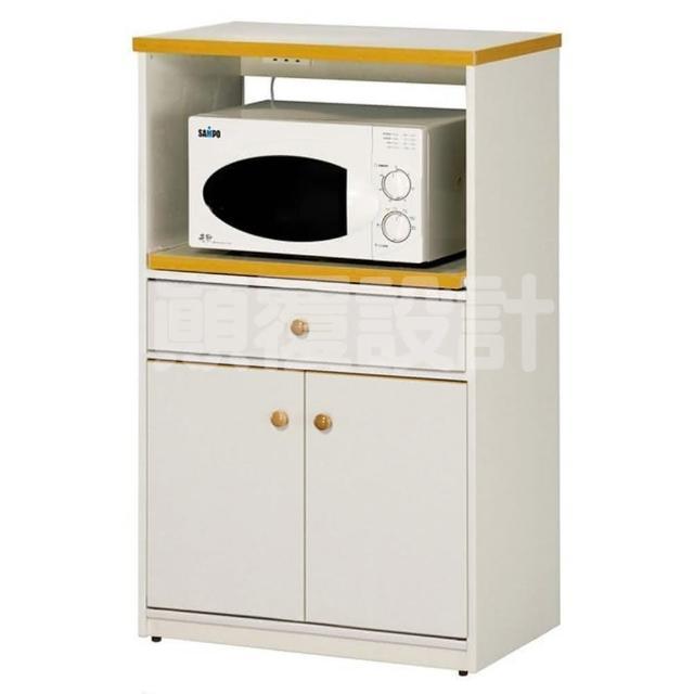 【顛覆設計】潮濕剋星-防水塑鋼單層單抽餐櫃/電器櫃