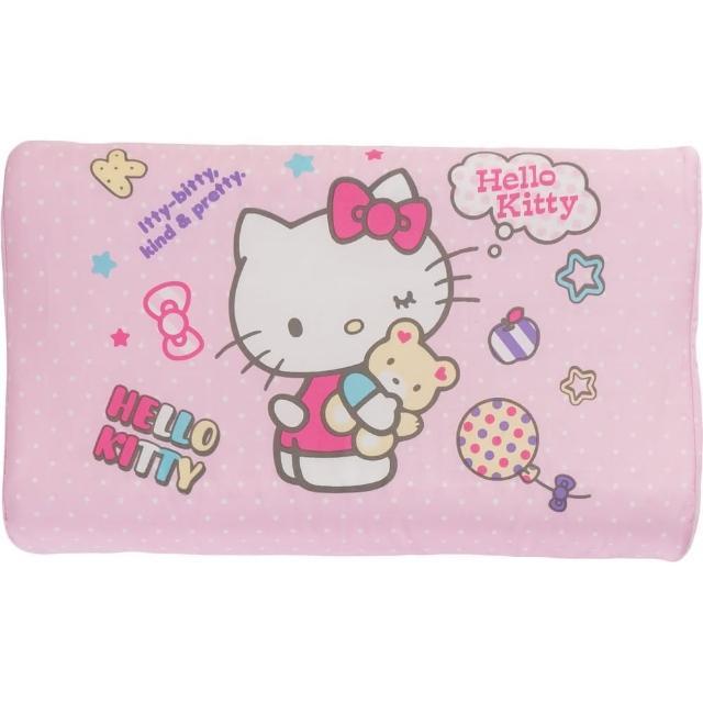 【HELLO KITTY】幼兒乳膠枕