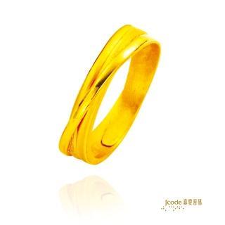 【J'code 真愛密碼】信望愛戒指-女戒(時尚金飾)