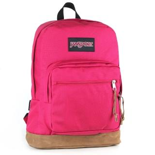 【JanSport】校園背包-RIGHT PACK(櫻桃色)