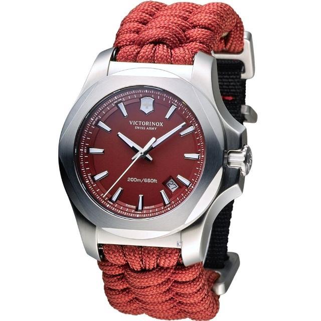 【Victorinox 維氏】INOX 軍事標準專業腕錶(VISA-241744)