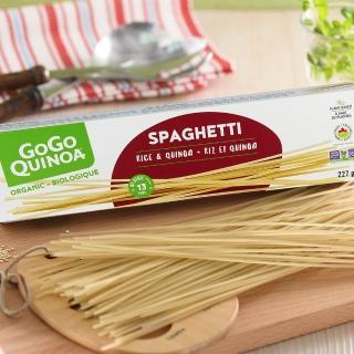 【GoGo Quinoa】有機義大利麵-直麵(227g)