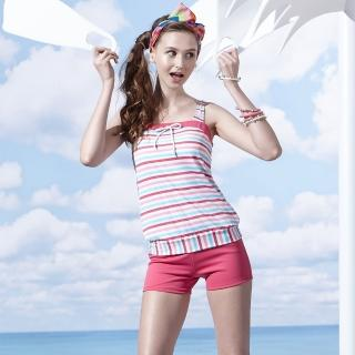 【SARBIS】泡湯SPA大女二件式泳裝(附泳帽B92658-07)