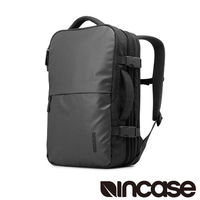 【Incase】EO Travel Backpack 時尚輕巧後背式筆電旅行包(黑)