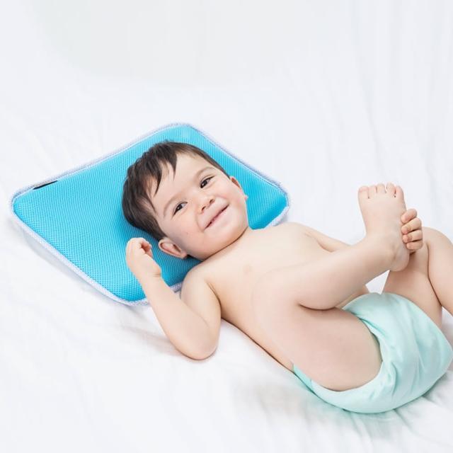 【COTEX】C-air聰明寶貝涼感兒童枕(可機洗 最安全 台灣製造)