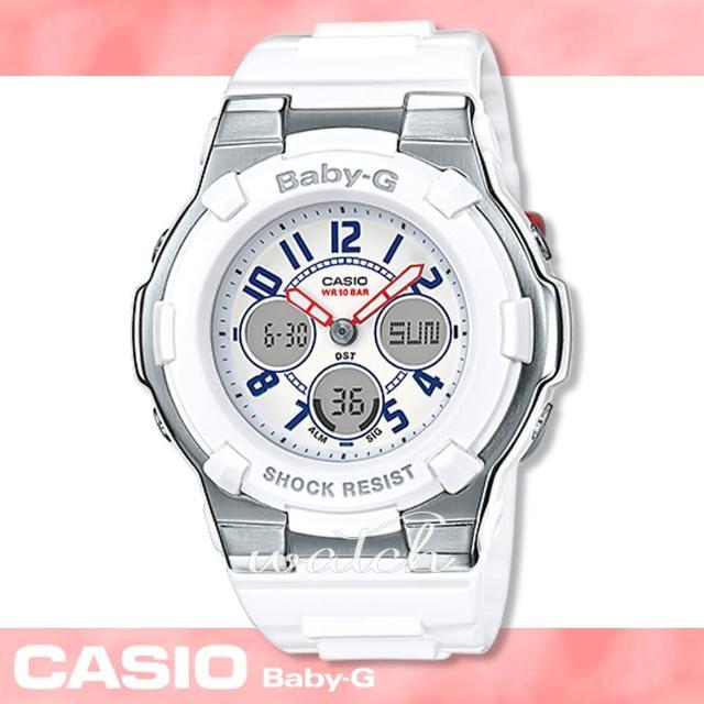 【CASIO卡西歐BABY-G系列】少女時代 海軍風女錶 春夏新品(BGA-110TR)