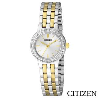 【CITIZEN星辰】典藏金色元素女仕腕錶(EJ6104-51A)