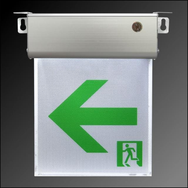 【台灣製】小型1:1LED避難方向燈左向(9411)