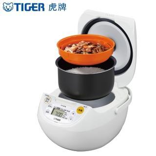 【日本原裝 TIGER虎牌】6人份微電腦多功能炊飯電子鍋(JBV-S10R)