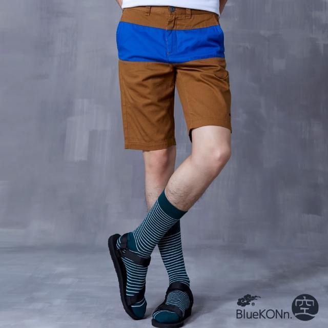 【BLUEWAY-BlueKONn.】拼接色短褲