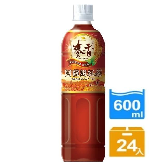 【麥香】阿薩姆紅茶600ml 24入/箱