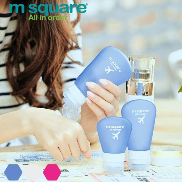 【M Square】旅行便攜分裝瓶 L(二入)
