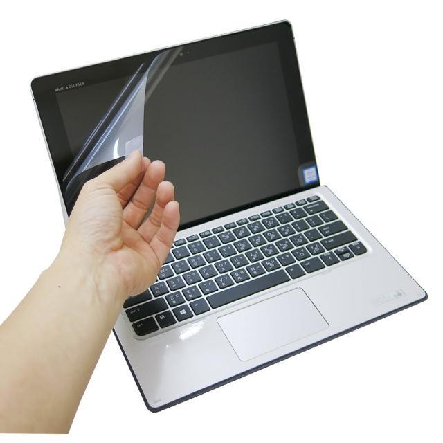 【EZstick】HP Elite X2 1012 系列專用 靜電式液晶螢幕貼(可選鏡面防汙或高清霧面)