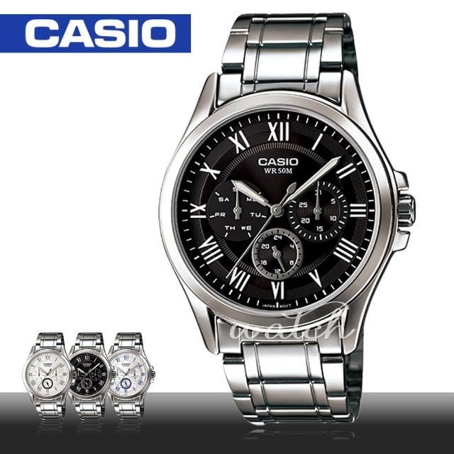 【CASIO 卡西歐】上班族推薦_商務休閒指針型男錶(MTP-E301D)比較推薦