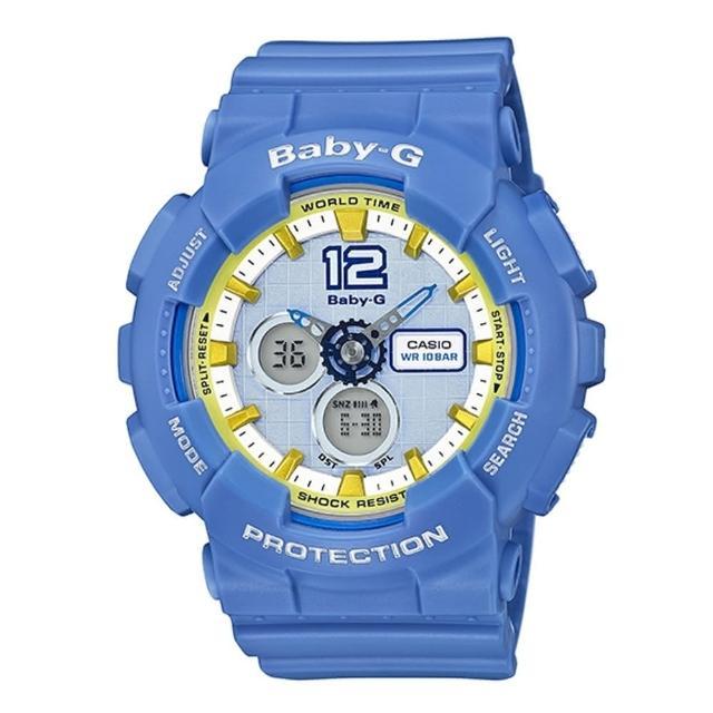 【CASIO BABY-G】時尚霸氣運動錶(BA-120-2BDR)