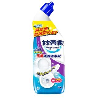 【妙管家】馬桶芳香清潔劑750g(薰衣草香)