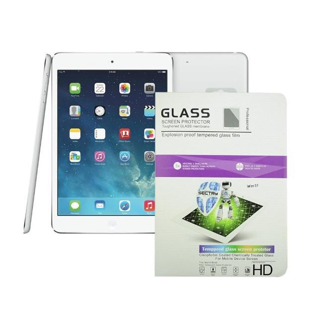【Metal-Slim】Apple iPad Air 1/2/Pro 9.7(9H弧邊耐磨防指紋鋼化玻璃保護貼)