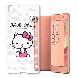 ~三麗鷗 Hello Kitty~SONY Xperia XA  SM10 凱蒂貓 浮雕彩
