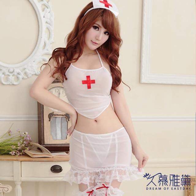【久慕雅黛】俏護士兩截式角色扮演服