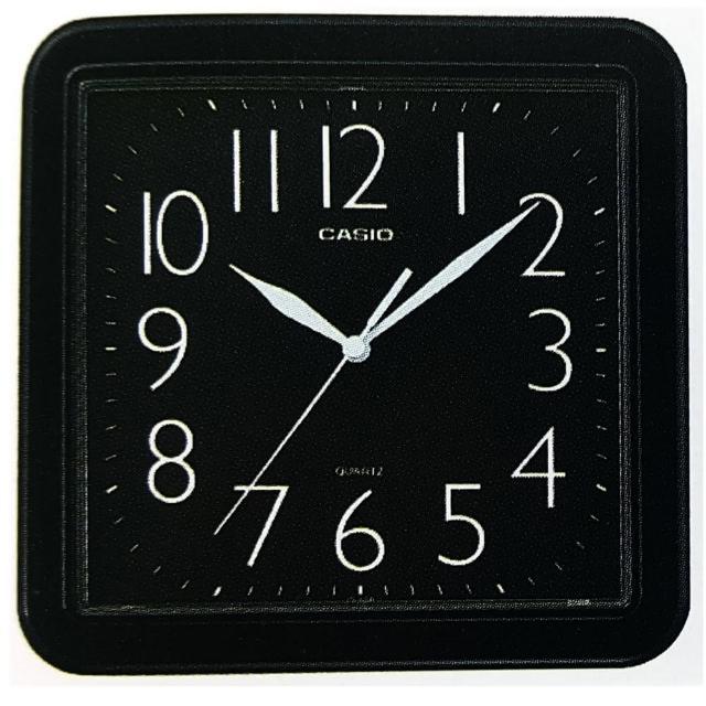【CASIO】清晰數字典藏方形掛鐘(IQ-02S-1)