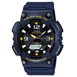 【CASIO】頂級戶外太陽能電力運動雙顯錶(AQ-S810W-2A)