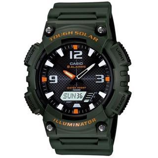 【CASIO】頂級戶外太陽能電力運動雙顯錶(AQ-S810W-3A)