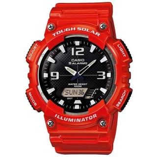 【CASIO】搶眼多功能運動雙顯錶(AQ-S810WC-4A)