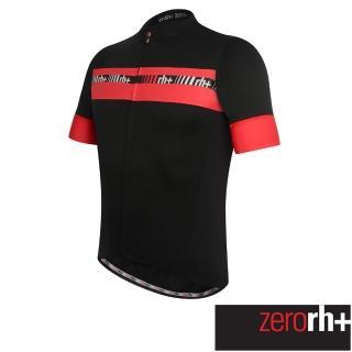【ZeroRH+】義大利ACADEMY專業自行車衣(黑/紅、黑/螢光黃、紅、黑、白、螢光黃 ECU0306)