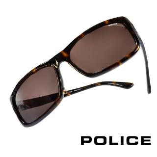 【POLICE】義大利警察都會款個性型男眼鏡-膠框(豹紋-POS1883-0722)
