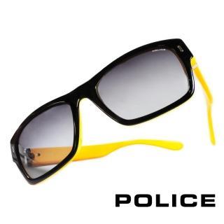 ~POLICE~義大利警察都會款 型男眼鏡~膠框 黃色~POS1885~0B29