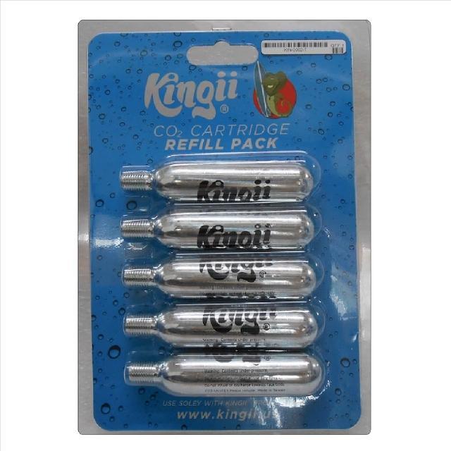 【Kingii】漂浮腕帶 專用填充鋼瓶(五入)