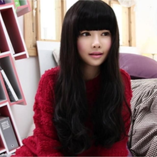 【米蘭精品】女假髮整頂假髮長假髮(時尚逼真蓬鬆捲髮美髮用品穿搭配件3色69o8)
