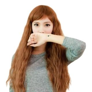 【米兰精品】女假发整顶假发长假发(时尚蓬松长卷发斜浏海美发用品穿搭配件3色69o38)