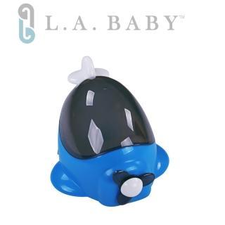 【L A BABY 美國加州貝比】幼兒學習便器-飛機造型(二款顏色-藍.紅)