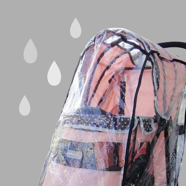 【IBIYAYA依比呀呀】推車配件-寵物推車雨罩-L