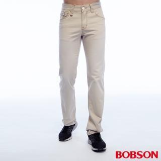 【BOBSON】男款刷色半舊直筒褲(1788-70)