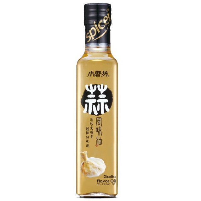 【小磨坊】蒜風味油(260ml)