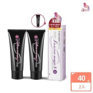 【雅鄔樂AURA】光彩護汝髮第二代-銀離子感光 白髮補色乳 40g(2件組)